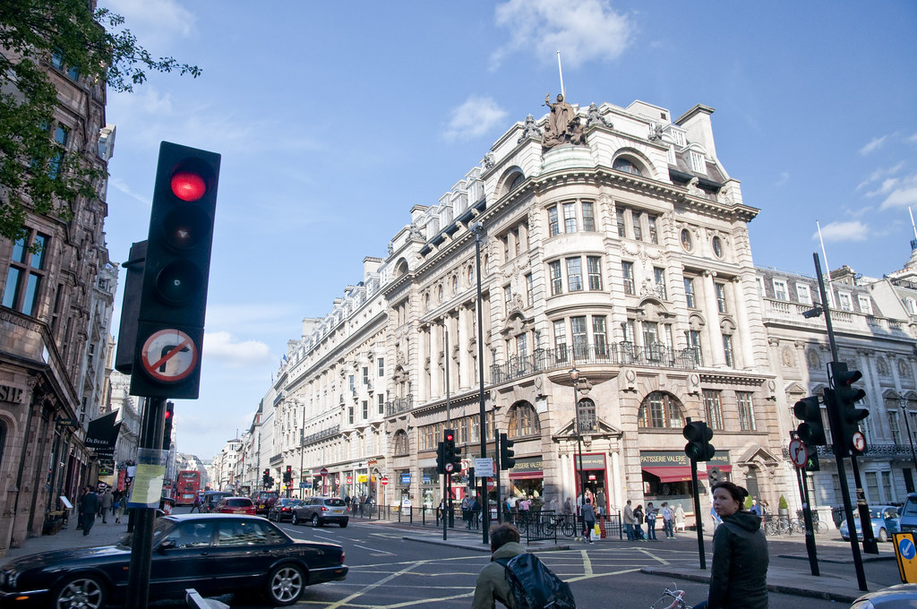 Piccadilly at London