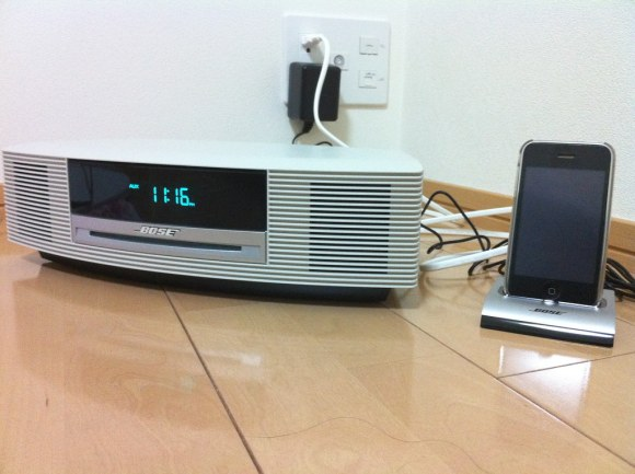 BOSE Wave music system専用iPod接続キット