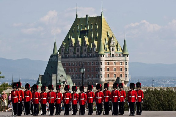 Changing of the Guard, free things to do in Quebec City