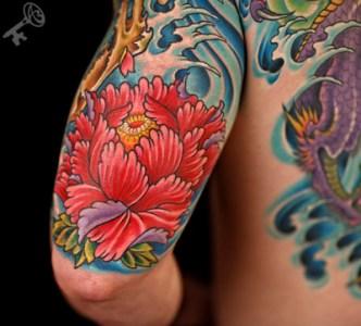 Tattoo Gallery Japanese Flowers Tattoos