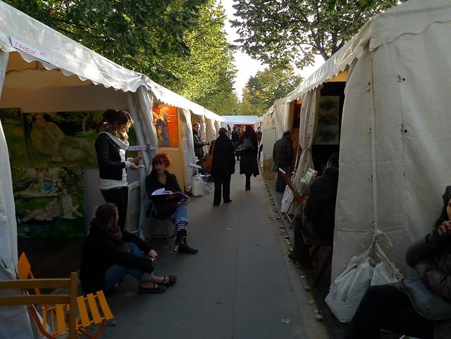 Grand Marché d'Art Contemporain à la Bastille (PARIS,FR75)