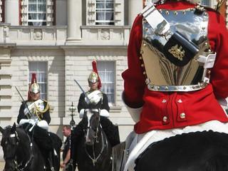 Render da Guarda Real em Londres