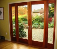 355 MAHOGANY FRENCH DOOR WITH SIDELIGHTS | Flickr - Photo ...