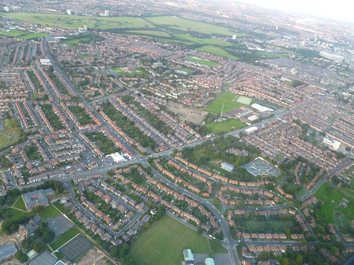 Benwell from the air