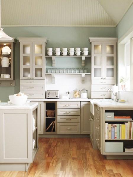 martha stewart white kitchen Martha Stewart Living Kitchens — decor8