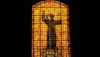 Stained Glass Inside Mission San Francisco de Asís