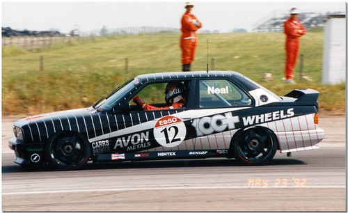 Matt Neal BMW M3. British Touring Car Championship Snetterton 1992 by Antsphoto