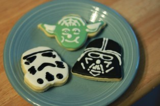 Star Wars Cookies, by Betsy Weber on Flickr (CC-by 2.0)