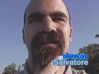Salvatore: going goatee, part 8