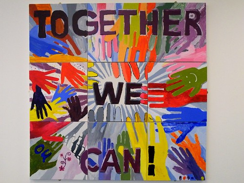 Day #122 Together we can!