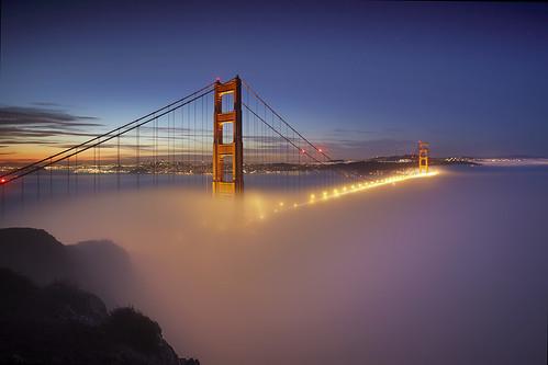 Fog at the Golden Gate #1 - San Francisco
