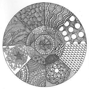 zentangle circle circles zentangles patterns doodles pattern doodle drawing mandala flickr drawings tangle step cool mandalas beginners coloring pro circular