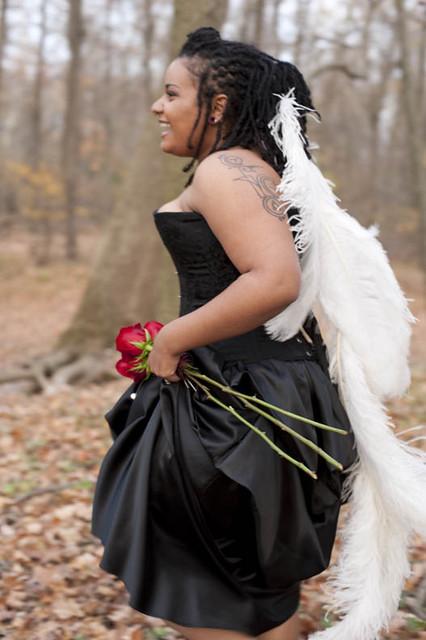 Bride Stuck in Brambles!