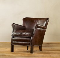 Professor's Leather Chair from Restoration Hardware $1035 ...