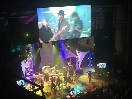 A photo of the Protomen playing at PAX Prime, 2010.
