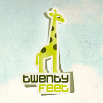 TwentyFeet - logo with background
