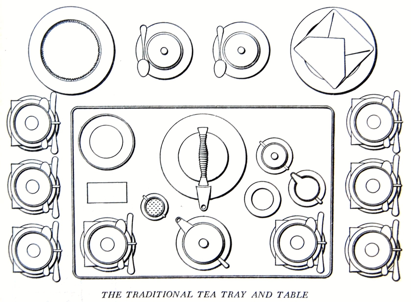 The Traditional Tea Tray And Table Flickr
