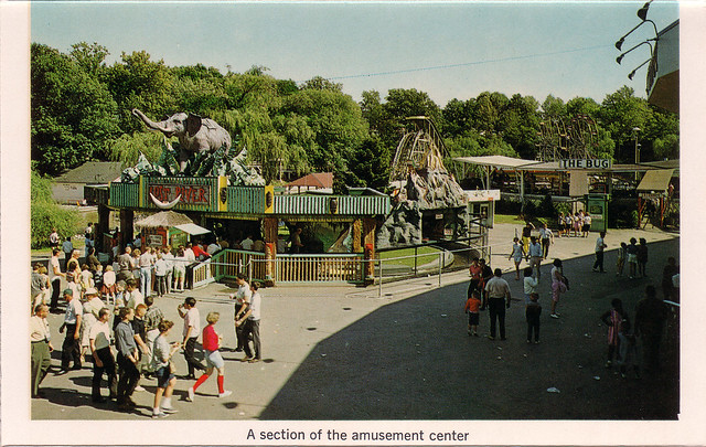 Hershey Park Midway 1960s  Flickr  Photo Sharing