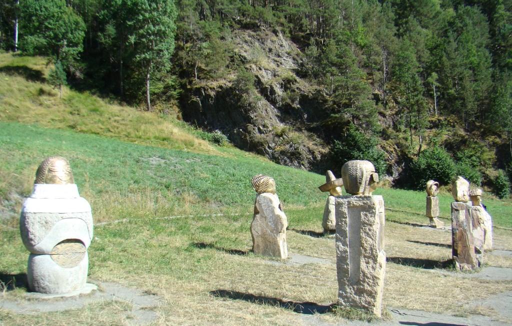Ruta de Hierro esculturas Familia Jordino Andorra 09