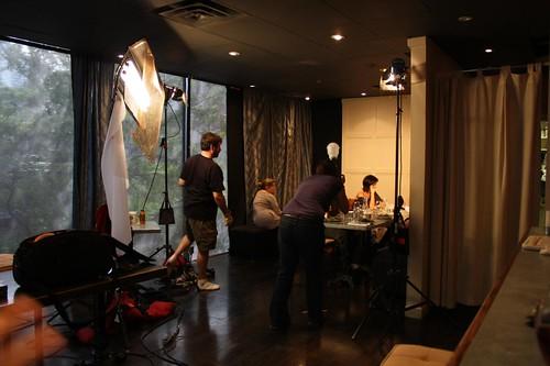 Filming Seeking Simone