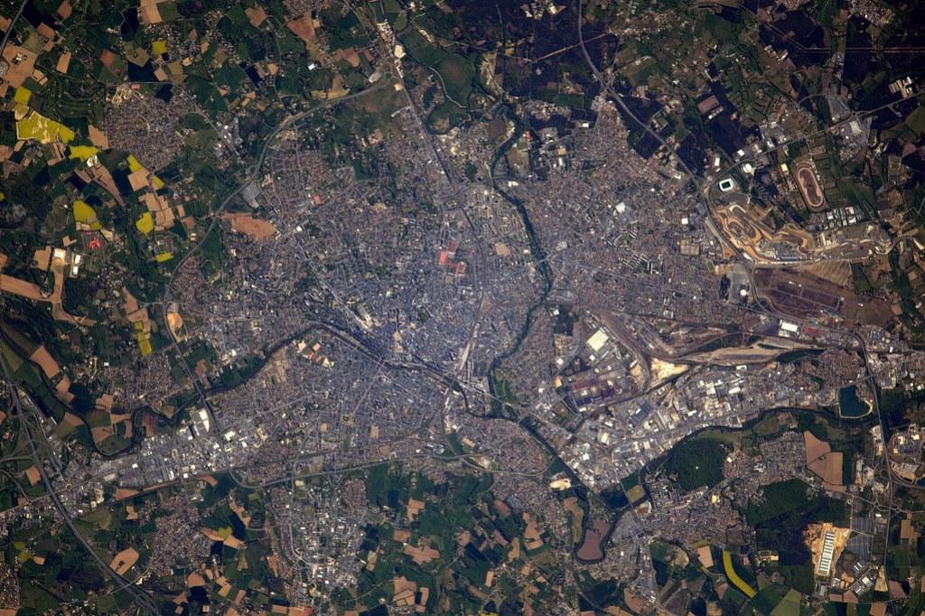 France vue de l'espace par Thomas Pesquet - N°3