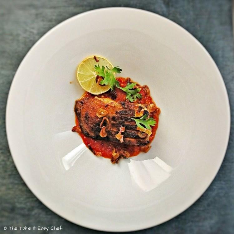 Pan-Fried Masala Sea Bass