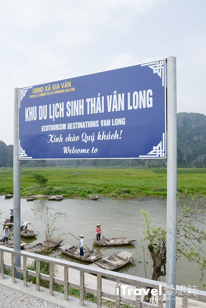 越南宁平游船 Van Long Nature Reserve (8)