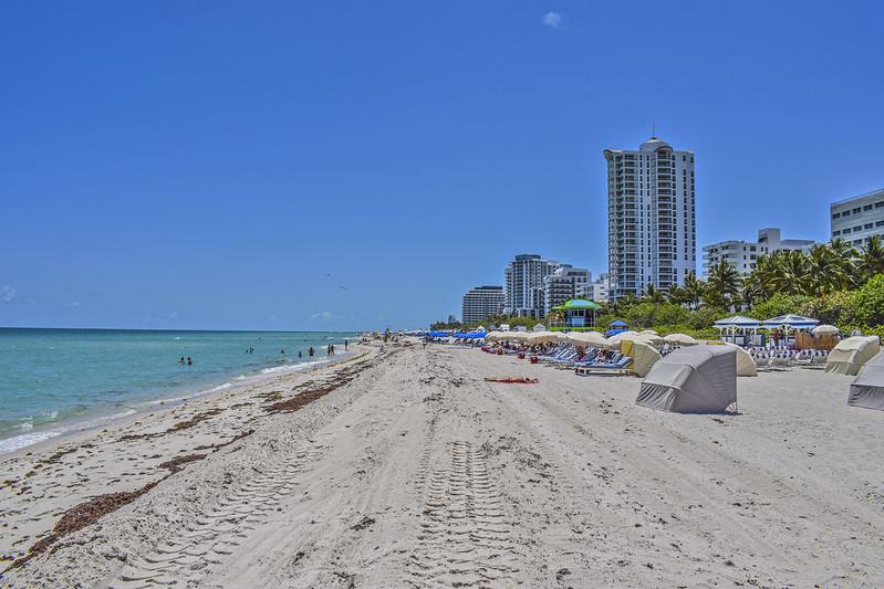 Miami Beach  tourist sights on the map