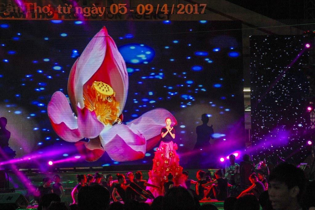 kagefestival i Can Tho, Vietnam