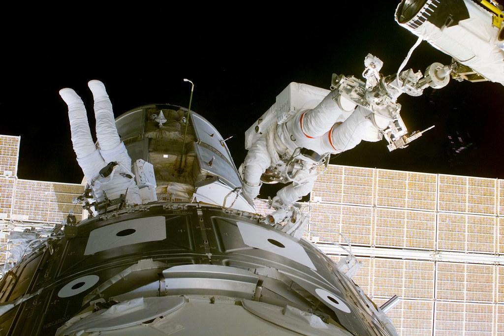 View taken during EVA 1