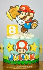 Paper Mario Cake