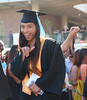 """Entering staging area to the strains of Pomp and Circumstance. (photos by Cameron Rivera)  Leeward Community College celebrated spring 2017 commencement on Friday, May 12, 2017 at Tuthill Courtyard.  For more photos from Leeward Community College's spring 2017 commencement go to:  <a href=""""https://www.flickr.com/photos/leewardcc/sets/72157683964234296"""">www.flickr.com/photos/leewardcc/sets/72157683964234296</a>"""