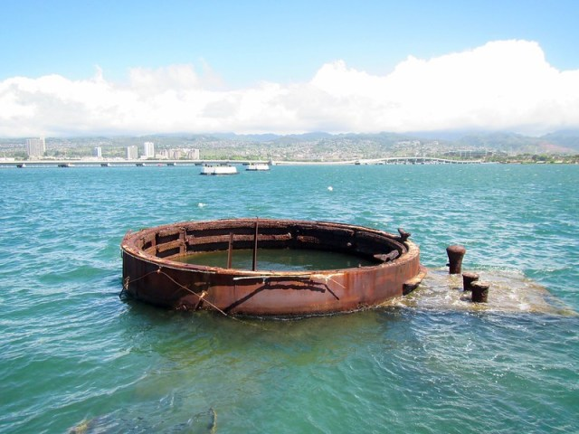 Picture from the USS Arizona Memorial