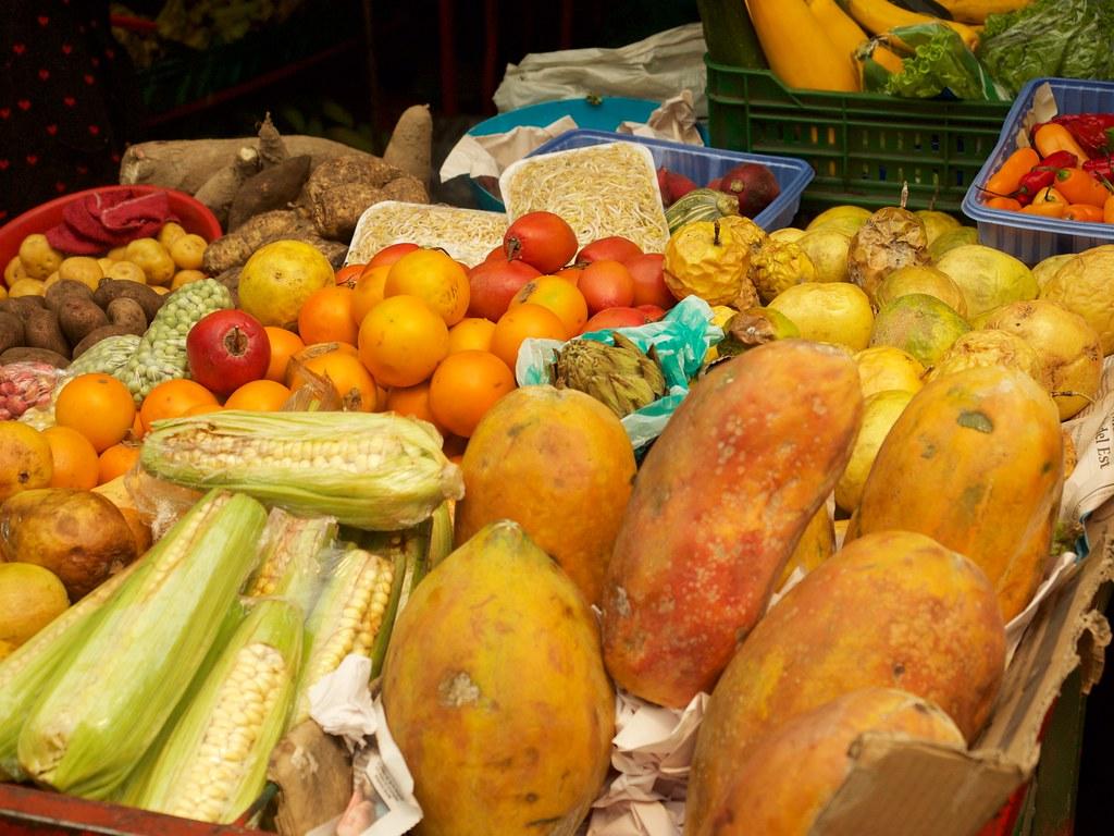 Bogota Fruit Market