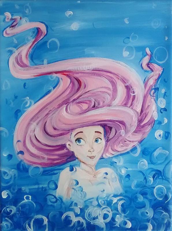 Pink Mermaid