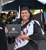 "A Hawai'i Community College graduate leaves the stage with her diploma during the commencement ceremony at the Pālamanui campus in Kailua-Kona on Saturday, May 13, 2017.   View more photos: <a href=""https://www.flickr.com/photos/53092216@N07/sets/72157681108098012"">www.flickr.com/photos/53092216@N07/sets/72157681108098012</a>"