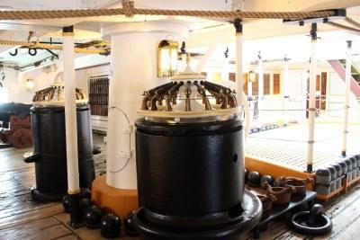 HMS Warrior Gun Decks