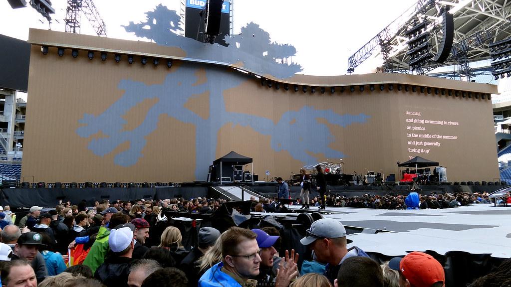 U2: The Joshua Tree Tour, Seattle 2017 – SPINA²