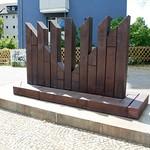 Denkmal für die Synagoge der Gemeinde Adass Jisroel (1)