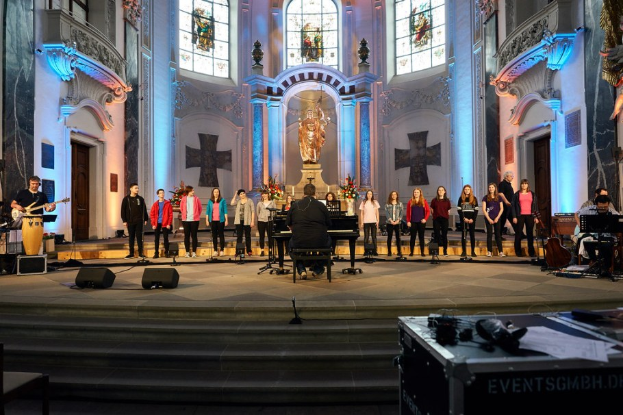 Night of Gospel Music 2017 - Soundcheck und Backstage