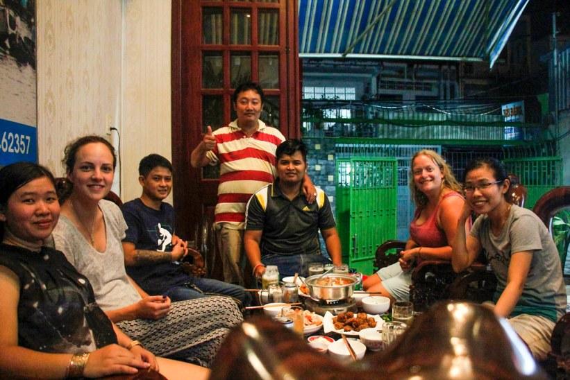 vietnamesiske venner i Can Tho