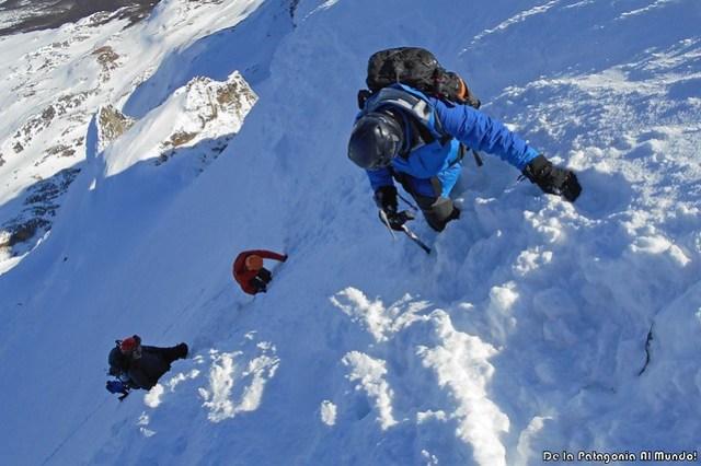 2016-08 Ascenso Cerro Alvear - Ushuaia
