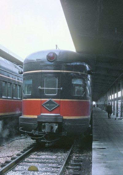 Illinois Central  Observation on Train 5, the Panama Limited - Magnolia Star at New Orleans, LA, Uniuon Terminal on November 22, 1967