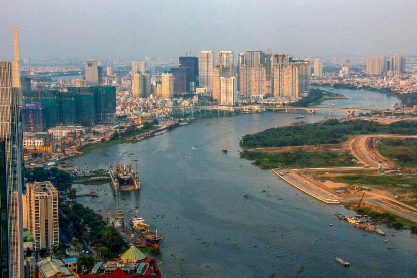 storbyliv i Ho Chi Minh City