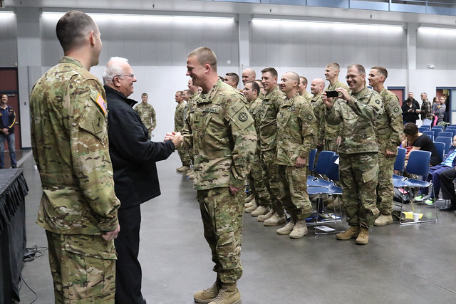 Families recognized for sacrifices during Guard deployment