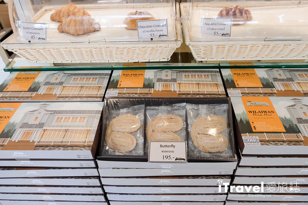 《华欣美食餐厅》Wilaiwan:纯白玻璃屋的薇莱汶餐厅