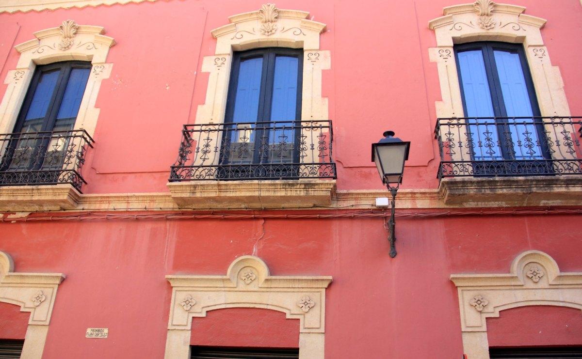beautiful old city of almeria