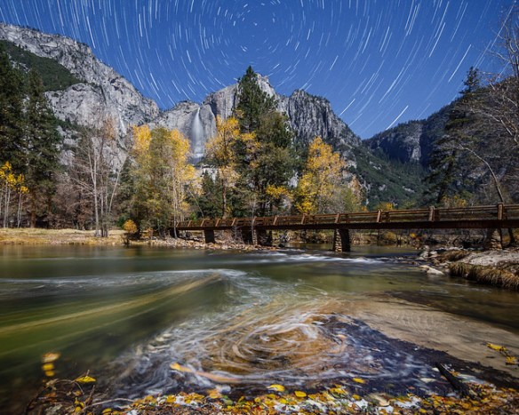 Merced River Fall Swirls