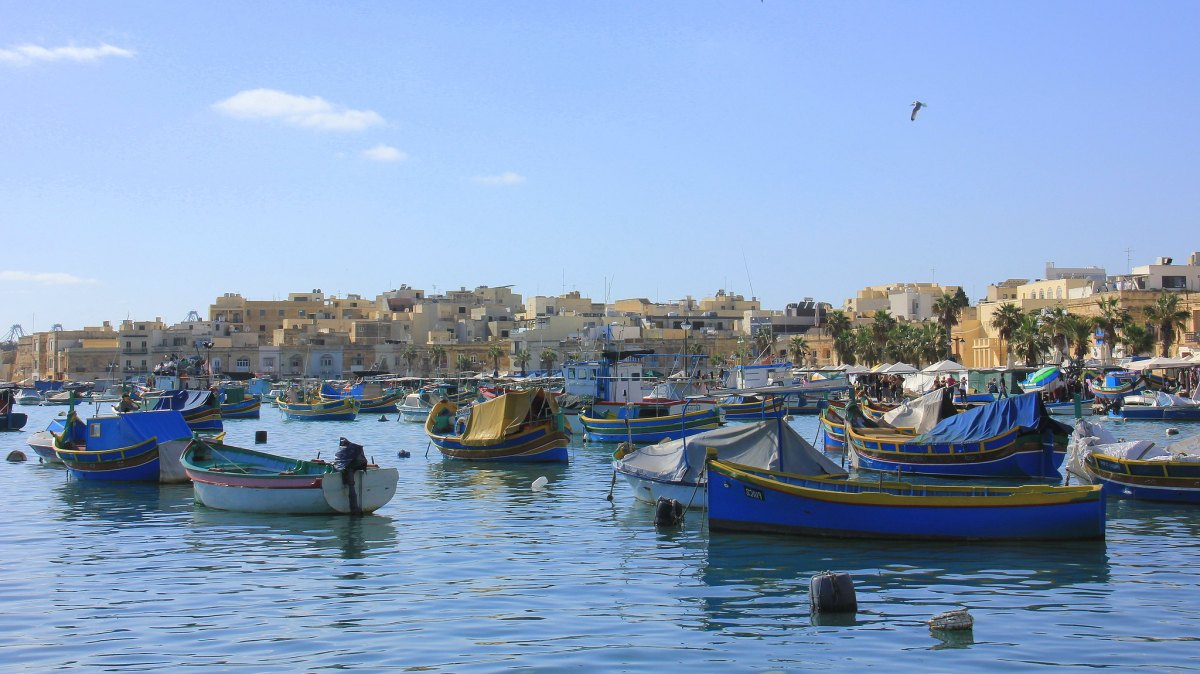 Malta is surrounded by Mediterranean Sea