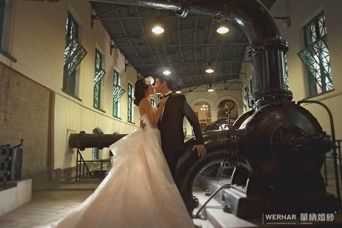 臺北自來水博物館/婚紗 | WERNAR Wedding Photo 華納婚紗攝影官方作品集│ 精選最完整的婚紗照都在這裡